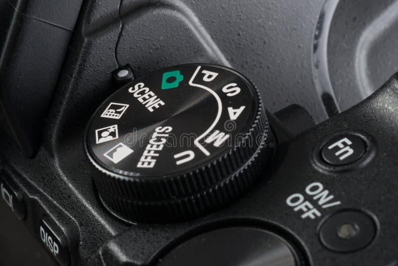 Επιλογέας μιας ψηφιακής κάμερα στοκ εικόνες