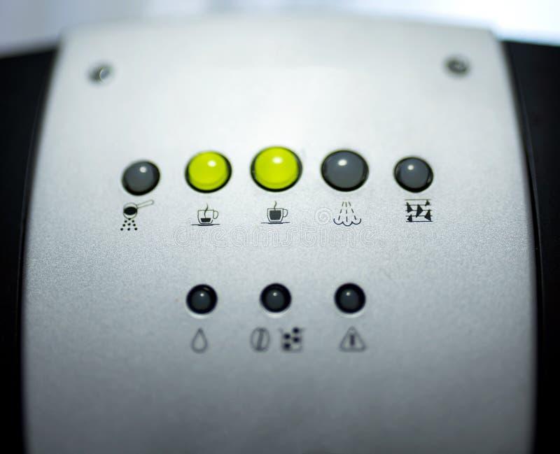 Επιλογέας τρόπου μηχανών Espresso στοκ εικόνες με δικαίωμα ελεύθερης χρήσης