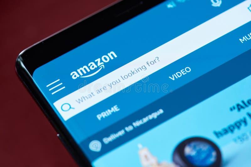 Επιλογές αναζήτησης του Αμαζονίου στοκ φωτογραφίες με δικαίωμα ελεύθερης χρήσης