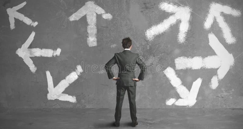 Επιλογές ενός επιχειρηματία στοκ φωτογραφία με δικαίωμα ελεύθερης χρήσης