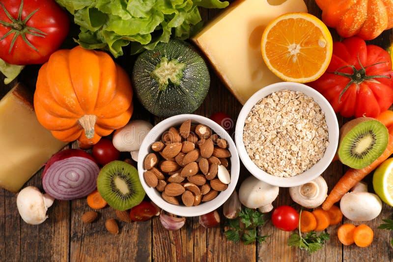 Επιλογή της υγιούς κατανάλωσης στοκ φωτογραφία με δικαίωμα ελεύθερης χρήσης