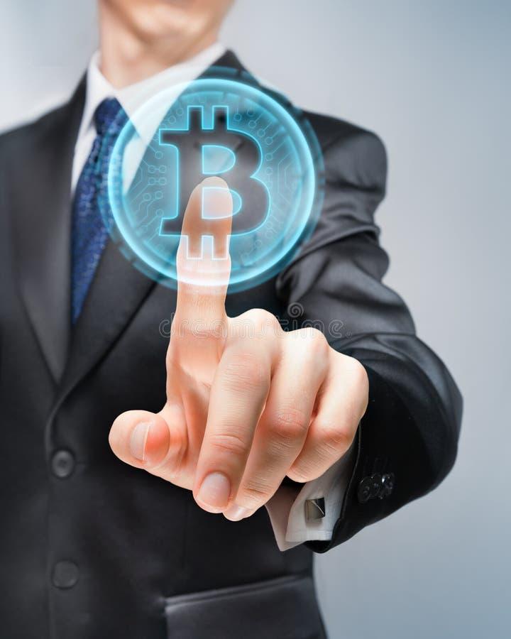 Επιλογή Bitcoin στοκ φωτογραφίες