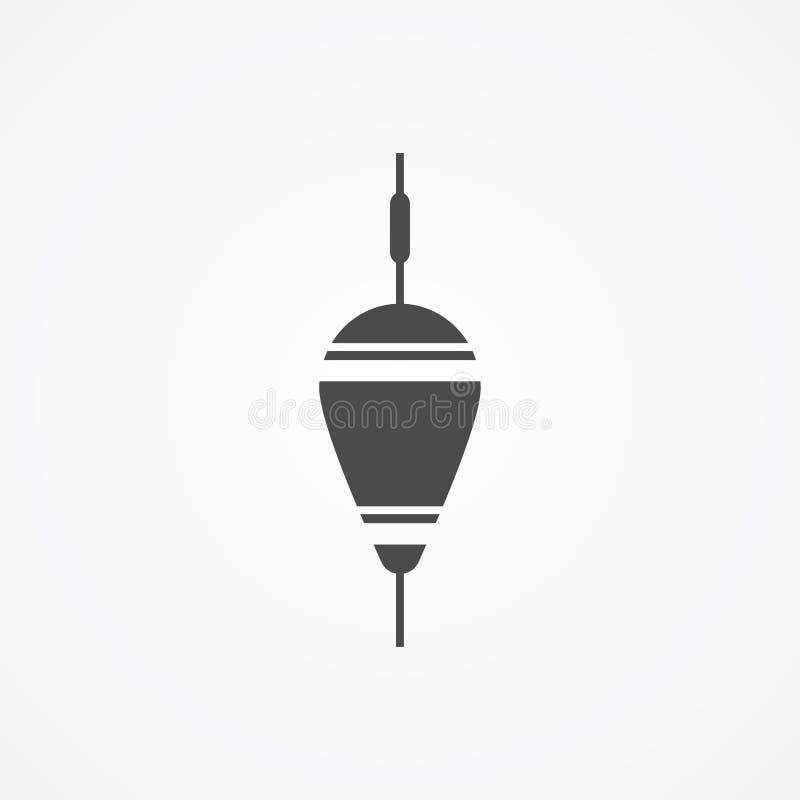 Επιπλέον bobber διανυσματικό σύμβολο σημαδιών εικονιδίων διανυσματική απεικόνιση