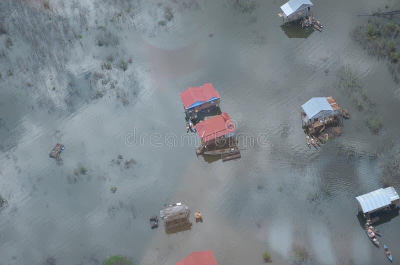 Επιπλέον χωριό στην Καμπότζη στοκ φωτογραφία με δικαίωμα ελεύθερης χρήσης