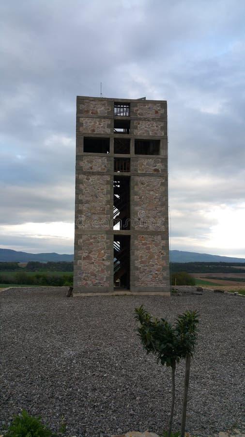 Επισκεμμένος πύργος στοκ εικόνες με δικαίωμα ελεύθερης χρήσης