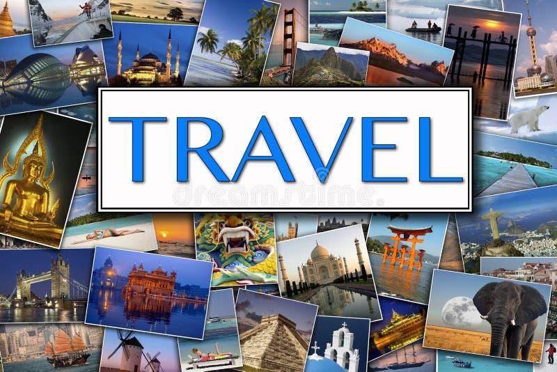 Επισκεμμένος τις φωτογραφίες - διεθνές ταξίδι στοκ εικόνα με δικαίωμα ελεύθερης χρήσης
