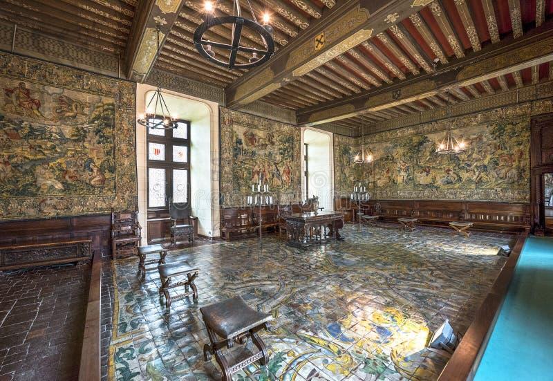 Επισκεπτόμενο κάστρο Cheverny στοκ φωτογραφίες με δικαίωμα ελεύθερης χρήσης