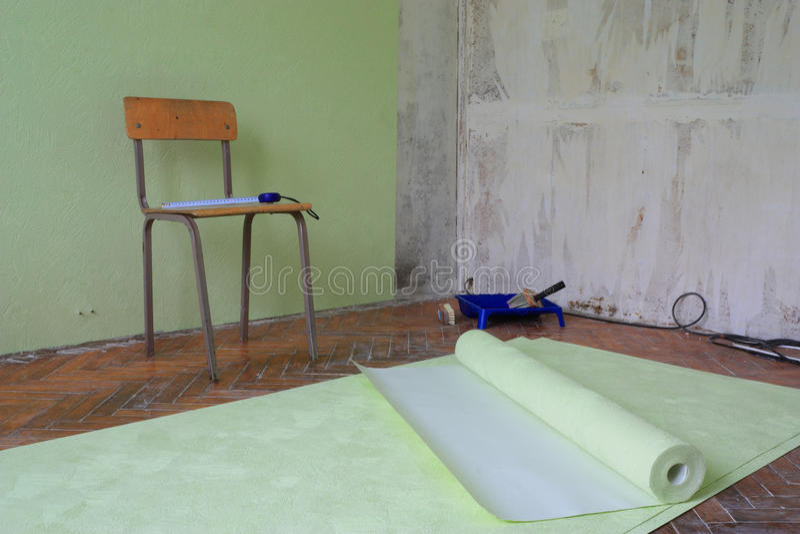 επισκευές διαμερισμάτω& στοκ φωτογραφία με δικαίωμα ελεύθερης χρήσης