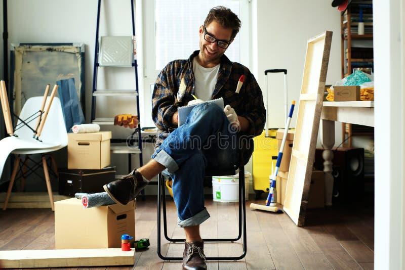 Επισκευές στο σπίτι στοκ εικόνα με δικαίωμα ελεύθερης χρήσης