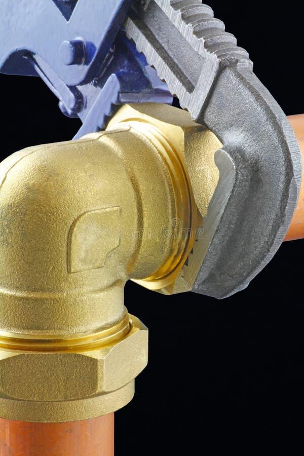 Επισκευές υδραυλικών στοκ φωτογραφία με δικαίωμα ελεύθερης χρήσης