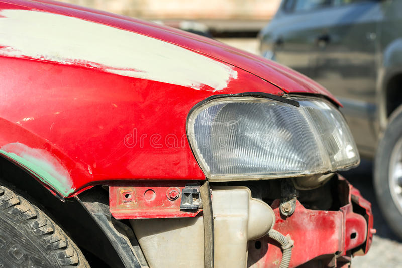 Επισκευή αυτοκινήτων στοκ φωτογραφίες με δικαίωμα ελεύθερης χρήσης