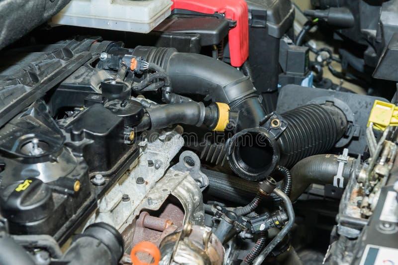 Επισκευή μηχανών αυτοκινήτων στοκ φωτογραφία με δικαίωμα ελεύθερης χρήσης