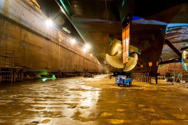 Επισκευή σκαφών στοκ εικόνα με δικαίωμα ελεύθερης χρήσης