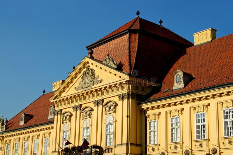 επισκοπικό παλάτι στοκ εικόνα