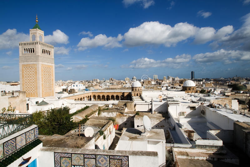 επισκόπηση Τυνησία στοκ φωτογραφίες