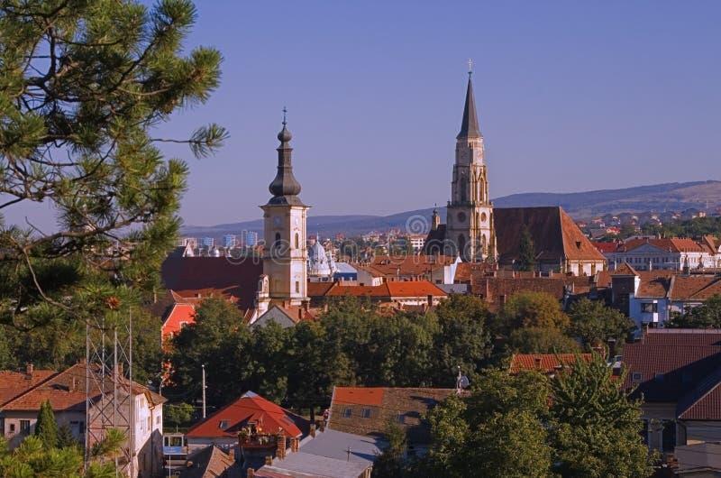 επισκόπηση napoca του Cluj στοκ εικόνες με δικαίωμα ελεύθερης χρήσης