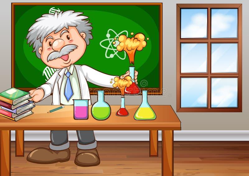 επιστήμονας διανυσματική απεικόνιση