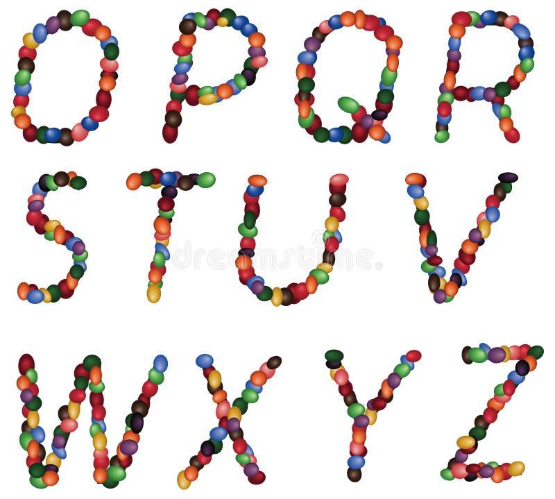 επιστολές αλφάβητου στοκ φωτογραφίες