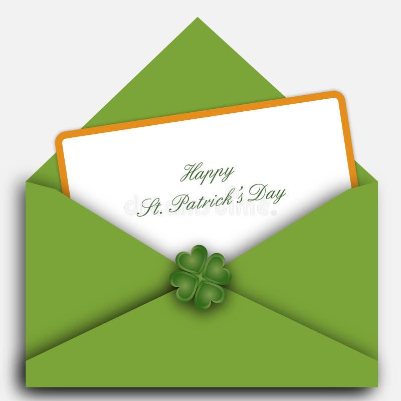 Download επιστολή Πάτρικ S ST ημέρας Διανυσματική απεικόνιση - εικονογραφία από αποχής, απεικόνιση: 13179877