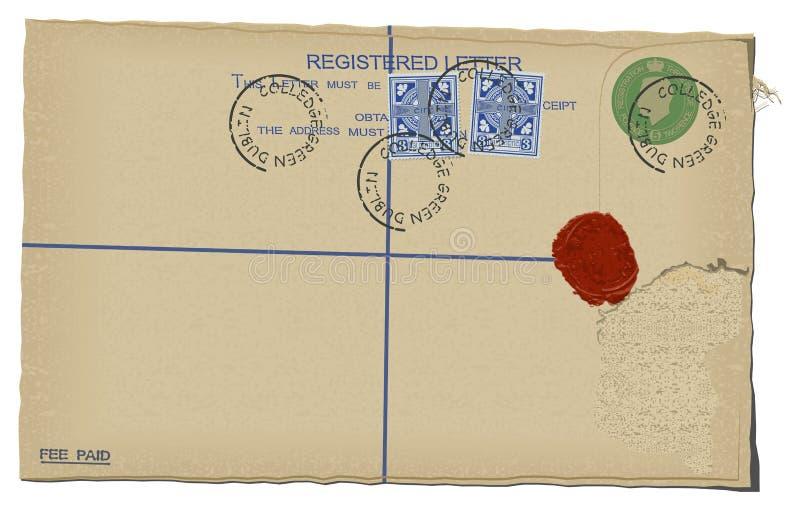 επιστολή διανυσματική απεικόνιση