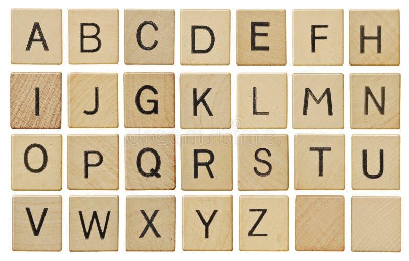 επιστολές κιμωλίας χαρτονιών αλφάβητου στοκ εικόνα