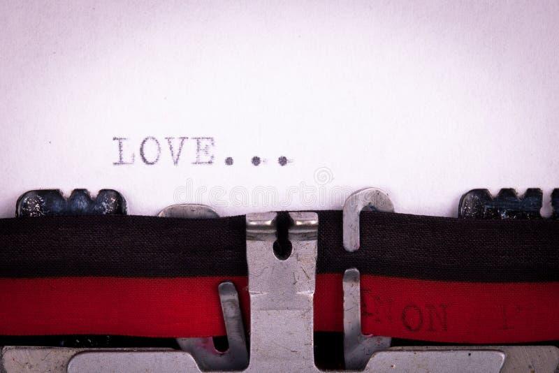 Επιστολή αγάπης γραπτή στοκ εικόνες