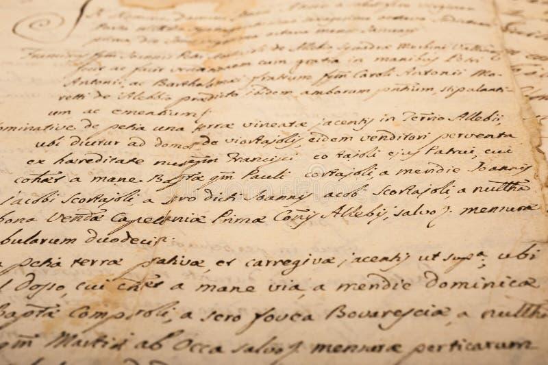 επιστολή παλαιά στοκ εικόνα