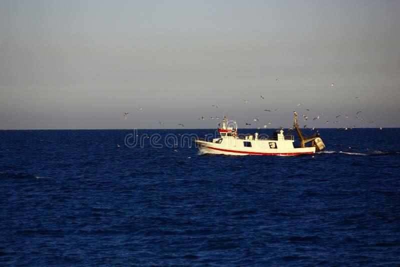 Επιστροφή από την αλιεία στοκ φωτογραφία με δικαίωμα ελεύθερης χρήσης