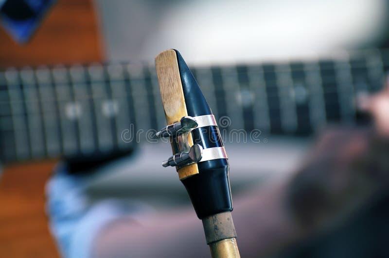 Επιστόμιο Saxophone στοκ εικόνες
