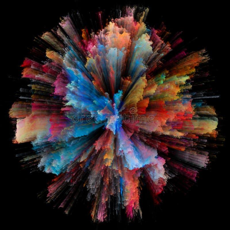 Επιτάχυνση των χρωμάτων απεικόνιση αποθεμάτων
