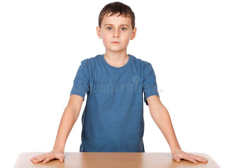 επιτακτικός schoolboy στοκ εικόνες με δικαίωμα ελεύθερης χρήσης