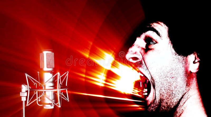 επιτεθείτε στον ήχο ελεύθερη απεικόνιση δικαιώματος