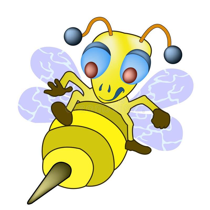 επιτιθειμένος μέλισσα απεικόνιση αποθεμάτων