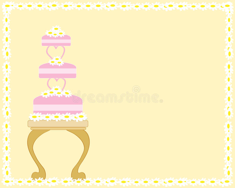 επιτραπέζιος γάμος κέικ ελεύθερη απεικόνιση δικαιώματος