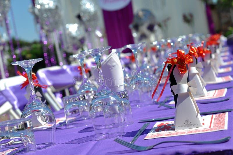 επιτραπέζιος γάμος λεπτ&om στοκ εικόνες με δικαίωμα ελεύθερης χρήσης