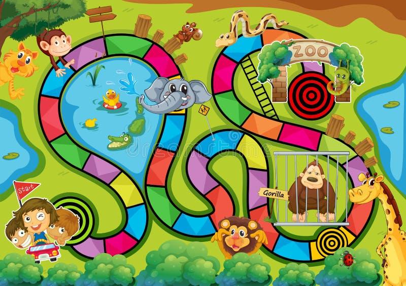 Επιτραπέζιο παιχνίδι ελεύθερη απεικόνιση δικαιώματος
