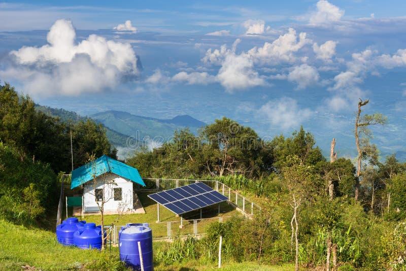 Επιτροπές ηλιακών κυττάρων στοκ εικόνα με δικαίωμα ελεύθερης χρήσης