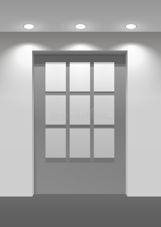 Επιτροπή αιθουσών εκθέσεως ελεύθερη απεικόνιση δικαιώματος