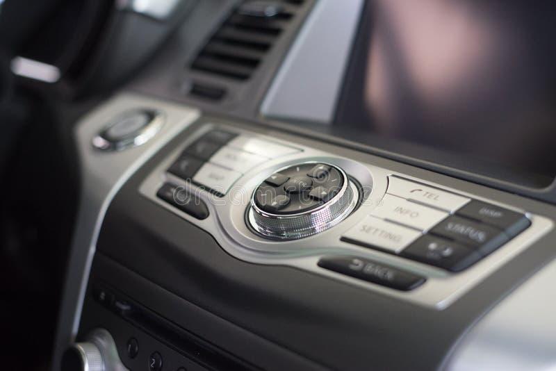 Επιτροπή κονσολών του αυτοκινήτου στοκ φωτογραφία