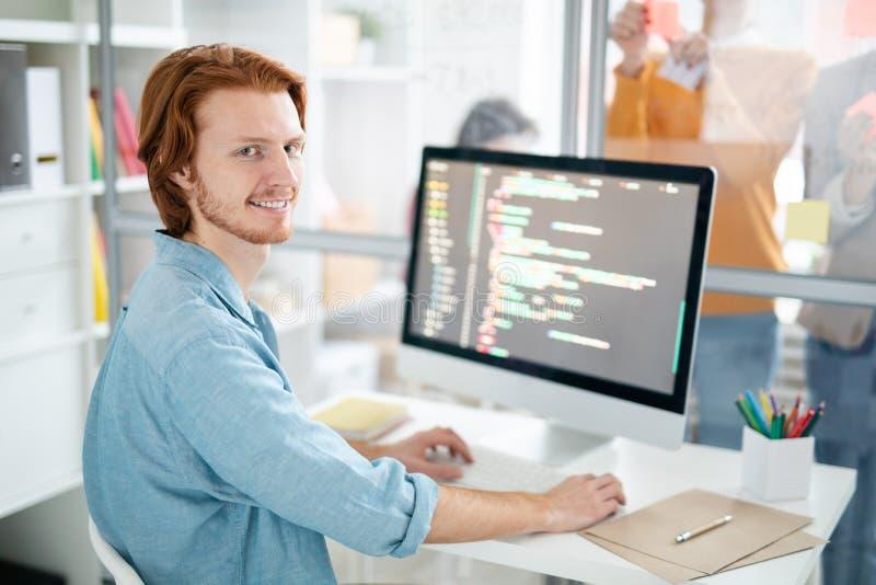 Επιτυχές webdesigner στοκ φωτογραφίες
