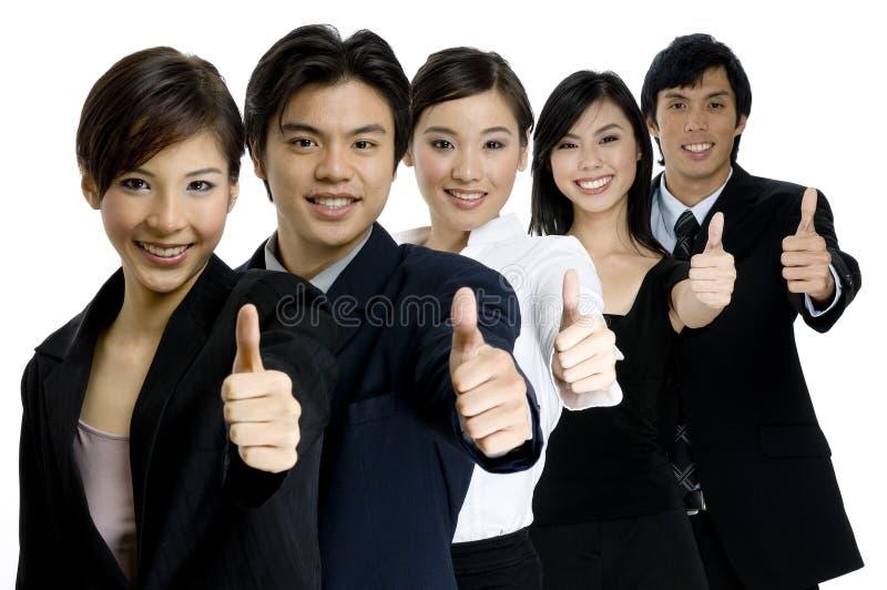 Επιτυχής επιχειρησιακή ομάδα στοκ εικόνες