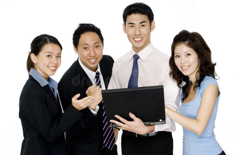 Επιτυχής επιχειρησιακή ομάδα στοκ φωτογραφία με δικαίωμα ελεύθερης χρήσης
