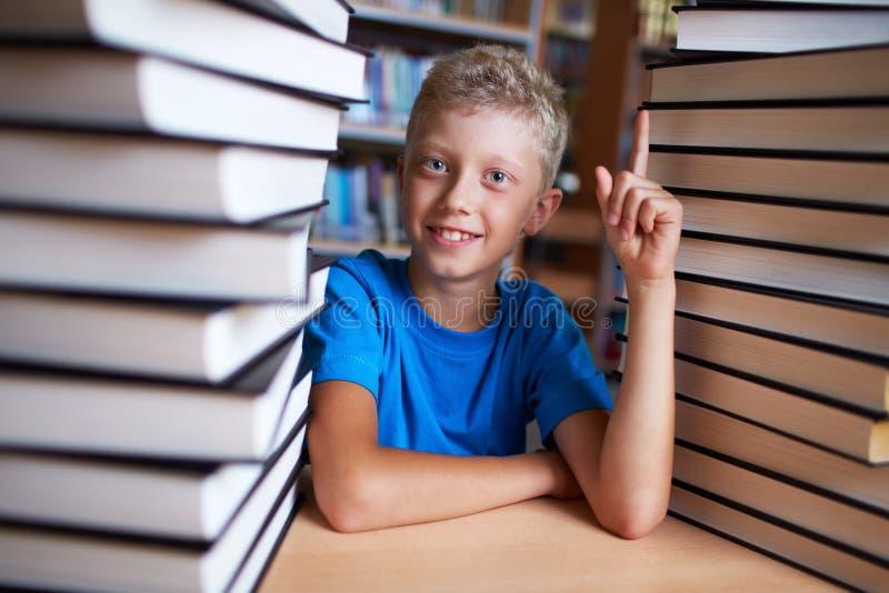 Επιτυχής μαθητής στοκ φωτογραφία