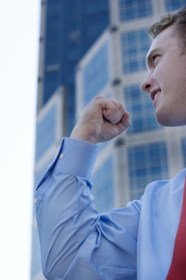 επιτυχία επιχειρηματιών στοκ εικόνες με δικαίωμα ελεύθερης χρήσης