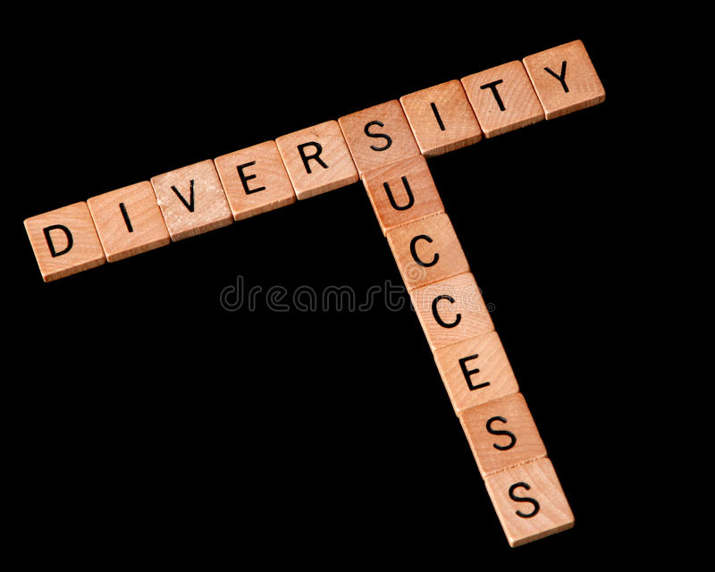 επιτυχία ποικιλομορφία&si στοκ φωτογραφία με δικαίωμα ελεύθερης χρήσης