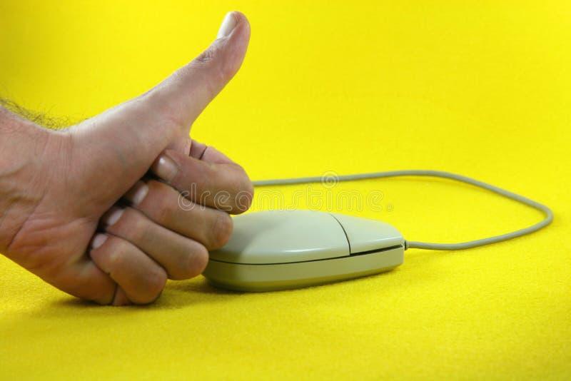 επιτυχία ποντικιών στοκ εικόνες
