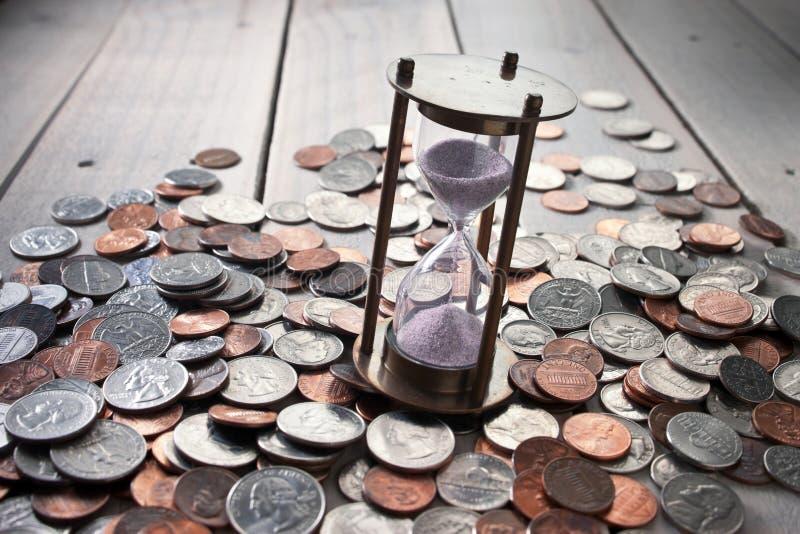 Επιτυχία χρημάτων επιχειρησιακού χρόνου στοκ φωτογραφία με δικαίωμα ελεύθερης χρήσης
