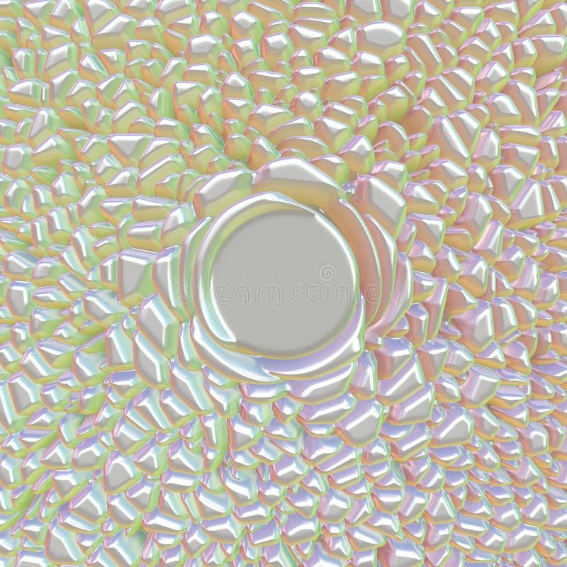 Επιφάνεια κρυστάλλου στοκ εικόνες