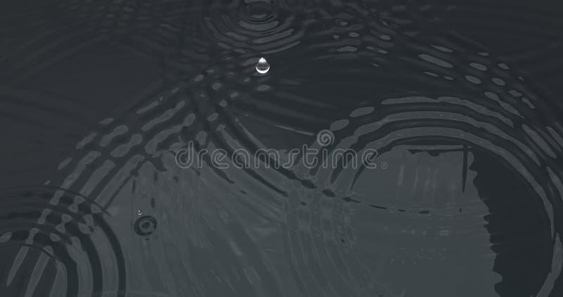 Επιφάνεια νερού κυματισμών πτώσης στοκ φωτογραφία με δικαίωμα ελεύθερης χρήσης