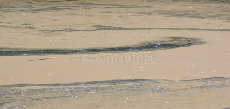 Επιφάνεια νερού στην ακτή στοκ εικόνες